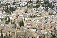 The Albaicin neighborhood Stock Photos