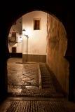 Albaicin neighborhood seen through a Moorish door Royalty Free Stock Photography
