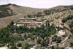 Albaicin przegląd od Alhambra obrazy stock