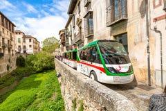 Albaicin quarter Granada Royalty Free Stock Image
