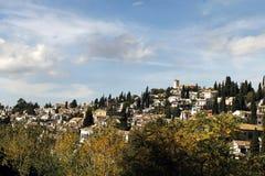 Albaicinn Granada Fotografía de archivo