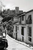 Albaizin Alhambra Granada Imágenes de archivo libres de regalías
