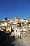 Albaizyn van Granada, Spanje stock fotografie