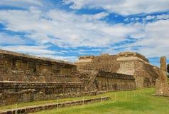 alban mexico monte oaxaca fördärvar Arkivfoton