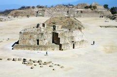 alban Mexico monte ruiny Zdjęcia Stock