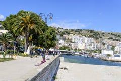 Alban Riviera arkivbild