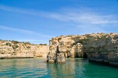 Albandeira, Algarve, Portogallo Fotografia Stock