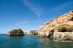 Albandeira, Algarve, Portogallo immagine stock