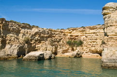 Albandeira, Algarve, Portugal Stock Photography