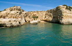 Albandeira, Algarve, Portugal Stock Images