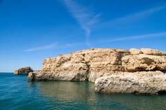 Albandeira, Algarve, Portugal Royalty Free Stock Photos