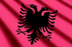 albanië stock illustratie