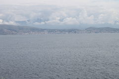 Albanië van Kassiopi, Griekenland royalty-vrije stock foto
