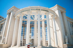 2016 Albania, albanian college durres, bautiful architecture of durres. University Stock Photography