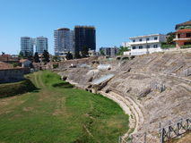 albania amphitheatre Durres Obraz Royalty Free