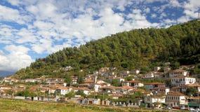 albania beratstad Royaltyfri Foto