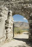Albania, Butrint, Ruins of City Walls Royalty Free Stock Image