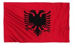 albania flagę Zdjęcia Royalty Free