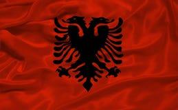 Albania Flag 3 Stock Images