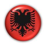 albania flagę Obraz Royalty Free
