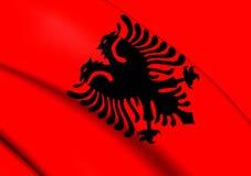 albania flagę Fotografia Stock