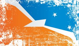albania flagga Rynkiga smutsiga fläckar Tierra del Fuego flagga Tierra del Fuego Province Argentina Rynkiga smutsiga fläckar vektor illustrationer