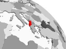albania mapa ilustracja wektor