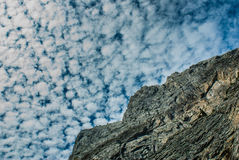 Albania mountain cloudscape Stock Photography