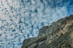 Albania mountain cloudscape. Albania prokletije cloudscape summer 2010 Stock Photography