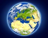 Albania na planety ziemi Fotografia Royalty Free