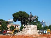 albania tirana Royaltyfria Bilder
