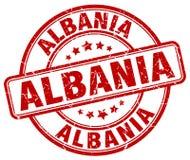 Albania znaczek Obrazy Stock
