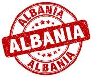 Albania znaczek Zdjęcia Royalty Free