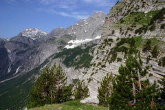 Albanian Alps Royalty Free Stock Photos
