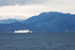 Albanian coast Royalty Free Stock Images