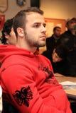 albanian fött lag för italy nationellt rugby s Royaltyfri Fotografi