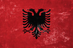 Albanian Flag Royalty Free Stock Image