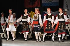 Albanian folklore Royalty Free Stock Images