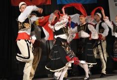 Albanian folklore Stock Photos