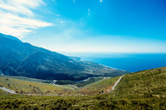 Albanian landscapes Royalty Free Stock Images