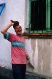 An Albanian man in Kosovo. Stock Photos