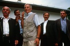 Albanian men in Kosovo. Royalty Free Stock Photos