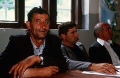 Albanian men in Kosovo. Royalty Free Stock Photography