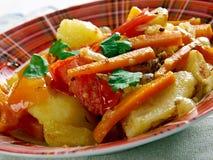 Albanian Vegetables Stock Photo