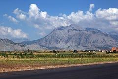 Albanien-Berge lizenzfreie stockbilder