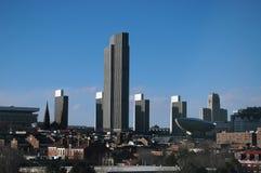 Albanien, NY Skyline Stockbild