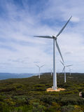 Albanien-Windmühle Stockfotografie