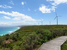 Albanien-Windpark Lizenzfreie Stockbilder