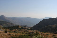 Albanischer Anblick Lizenzfreies Stockbild