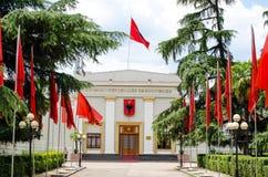 Albanisches Parlament Lizenzfreie Stockfotos